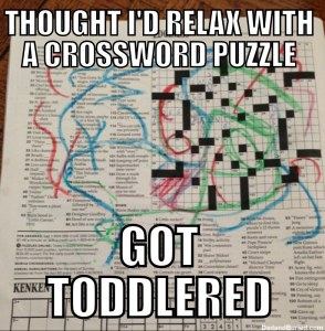 Toddlered-Crossword